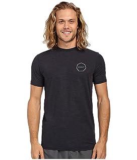 Alltime Short Sleeve Heathered Surf Tee UPF 50