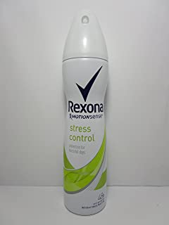 REXONA WOMEN MotionSense STRESS CONTROL 48h ANTI-PERSPIRANT SPRAY 5.0 Oz / 150 ml
