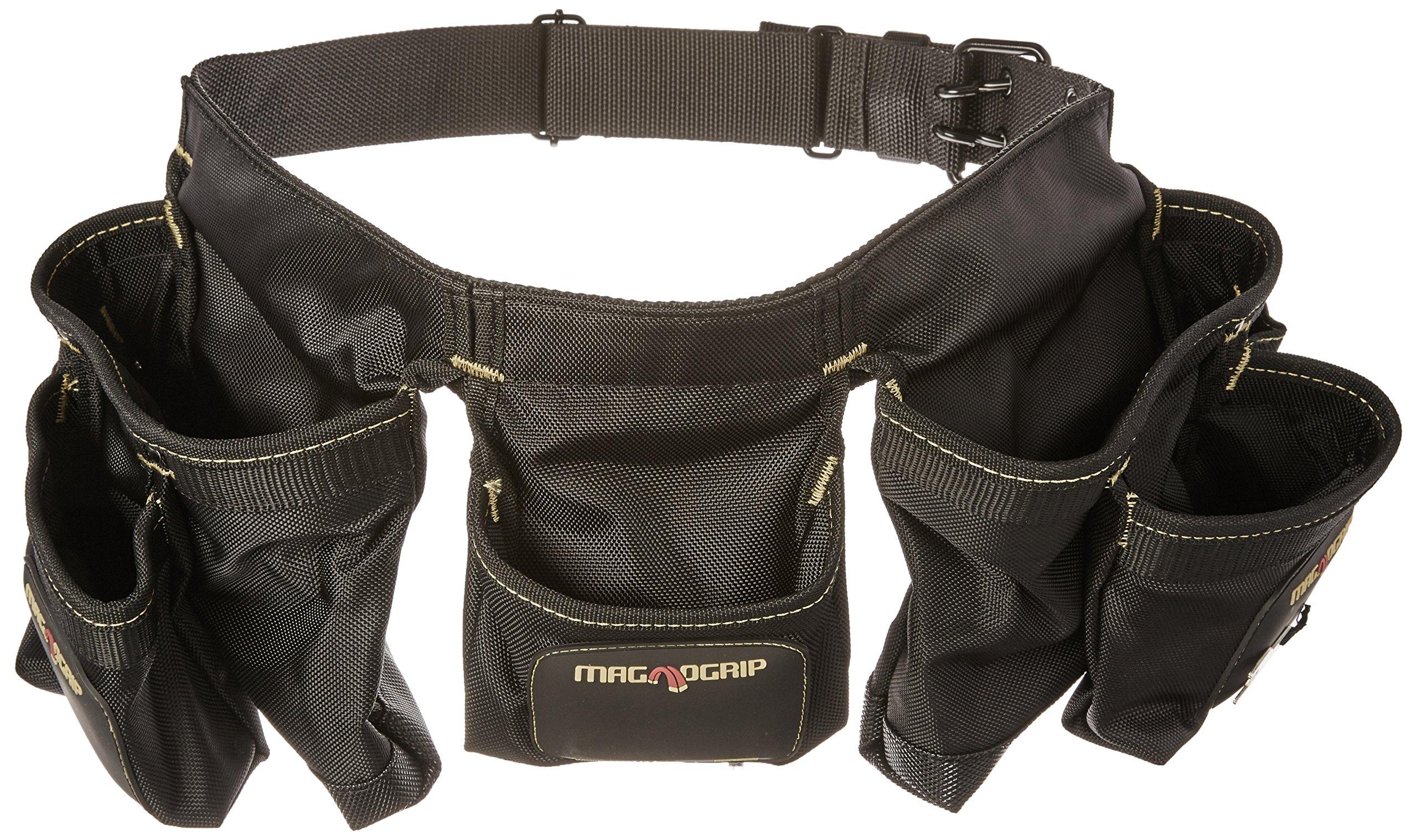 MagnoGrip 002-382 12-Pocket Magnetic Carpenter's Tool Belt