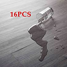16 PCS 24 Square Feet, CO-Z Odorless Vinyl Floor Planks Adhesive Floor Tiles 2.0mm Thick,..