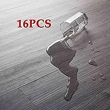 16 PCS 24 Square Feet, CO-Z Odorless Vinyl Floor Planks Adhesive Floor Tiles 2.0mm Thick,..