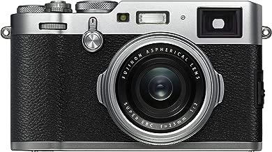 Fujifilm X100F 24.3 MP APS-C Digital Camera - Silver (Renewed)