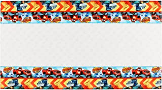 Blaze and the Monster Machines Plastic Table Cover, Party Favor