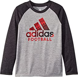 Raglan Performance Logo Tee (Toddler/Little Kids)