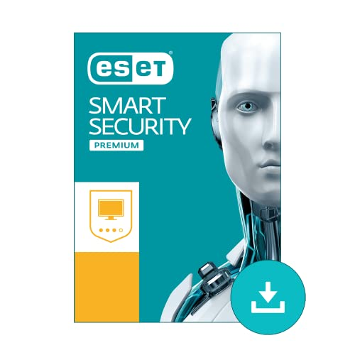 ESET Smart Security Premium for Windows 2019 | 1 Device & 1 Year | Official Download with License