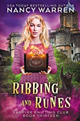 Ribbing and Runes: A Paranormal Cozy Mystery (Vampire Knitting Club Book 13) (English Edition) Format Kindle