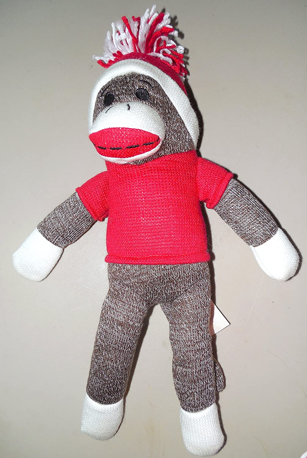 Spark Create Imagine rot Sock Monkey by Solid rot