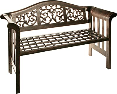 Oakland Living Mississippi Cast Aluminum Royal Bench
