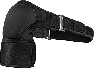 Shoulder Brace for Torn Rotator Cuff, AC Joint Pain Relief, Tendonitis, Bursitis - Orthosis Support and Compression Sleeve...