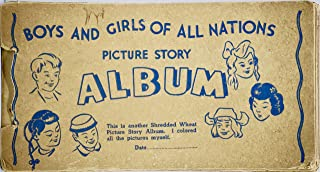 1939 - Nabisco/Shredded Wheat - Boys And Girls Of All Nations Picture Story Album - 20 Card Set - Rare - Collectible