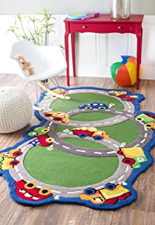 Best green accent rug Reviews