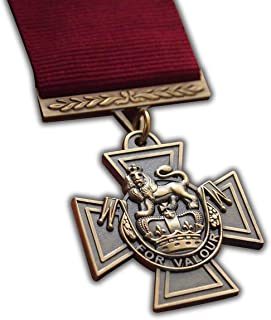 The Victoria Cross Medal Full Size Highest British Military Award for Conspicuous Bravery to | ARMY | NAVY | RAF | RM | SBS | PARA High Quality Reproduction