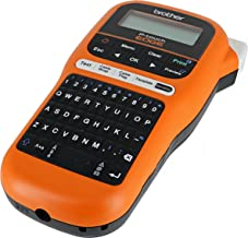 Brother PT-E105 P-Touch Edge Handheld Industrial Label Maker with Interactive Menu and Automatic Lamination (AAA Batteries Not Included)