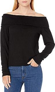 Buffalo David Bitton Womens KT7901 Rachella Long_Sleeve T-Shirt