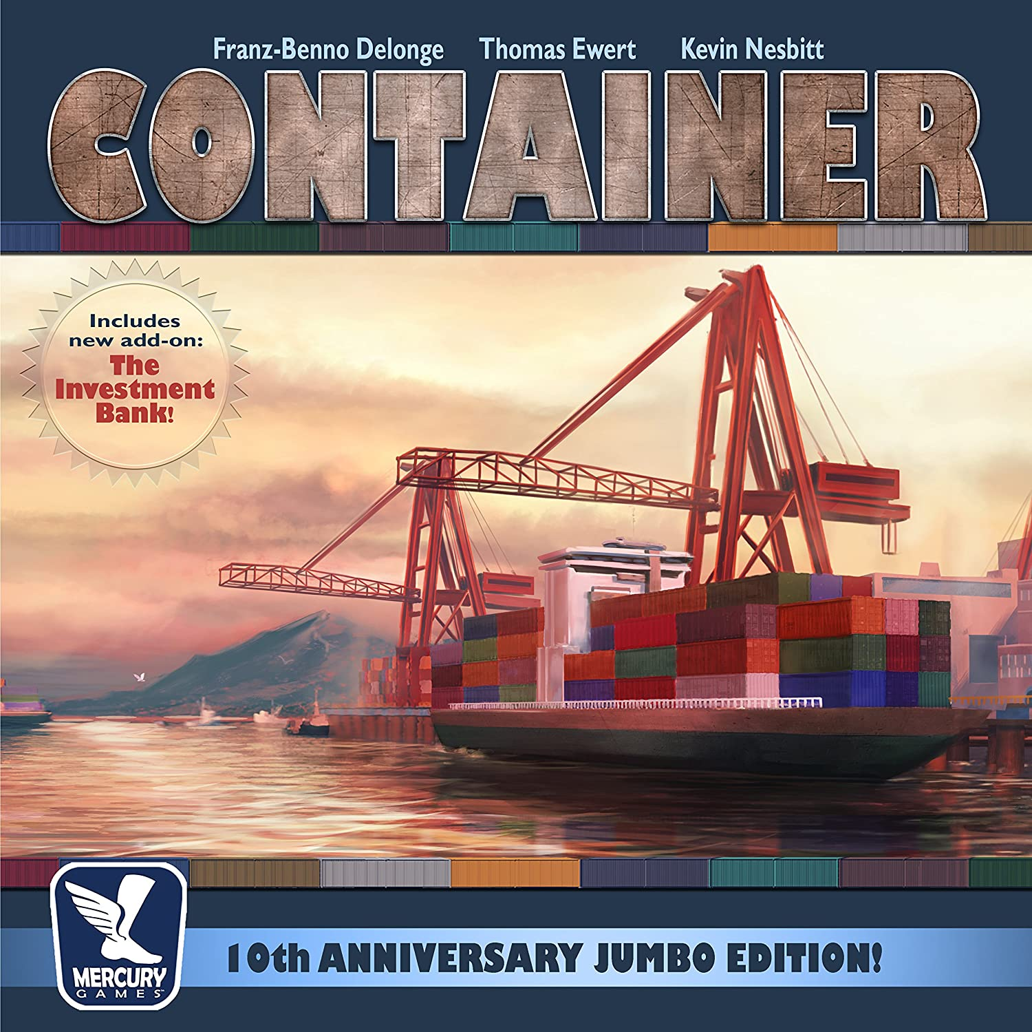 Mercury Games MCY01703 Container 10th Anniversary Jumbo Edition, Mehrfarbig