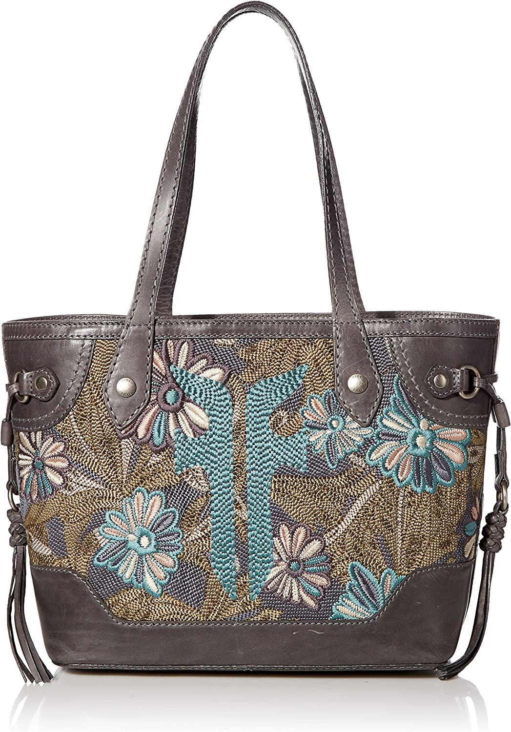 Frye Melissa Embroidery Carryall