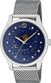 Gucci - Reloj Fase Lunar para Unisex de Cuarzo con Correa en Acero Inoxidable YA126328