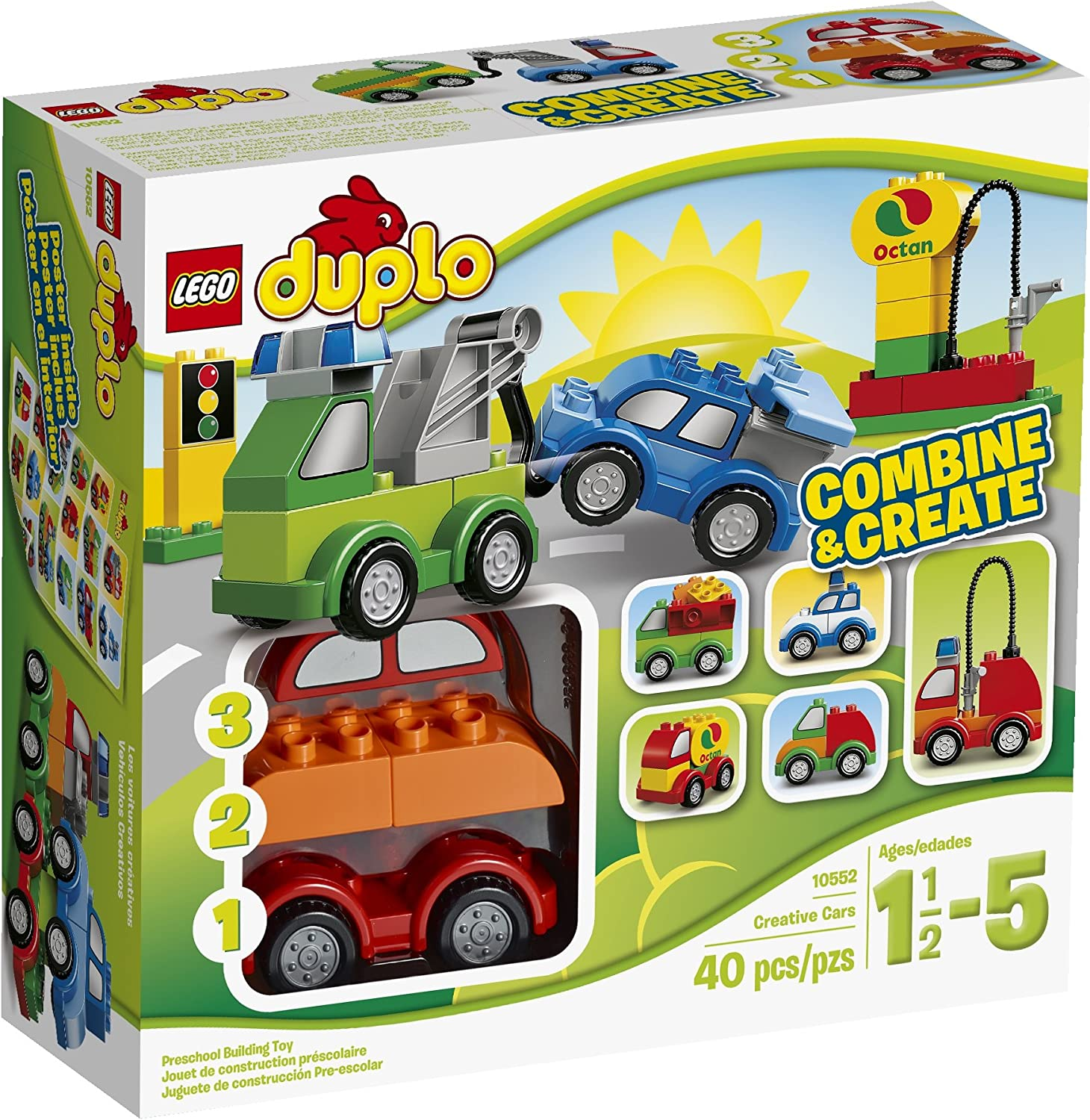 LEGO DUPLO My Ranking TOP20 First 10552 Cars Louisville-Jefferson County Mall Set Building Creative