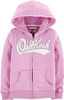 Osh Kosh Girls' Kids Full Zip Logo Hoodie