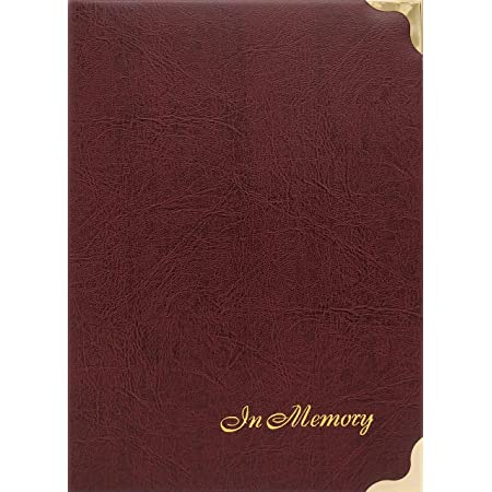 20 innenblaetter, Hardcover Guest Book Memory Confirmation//Communion A5