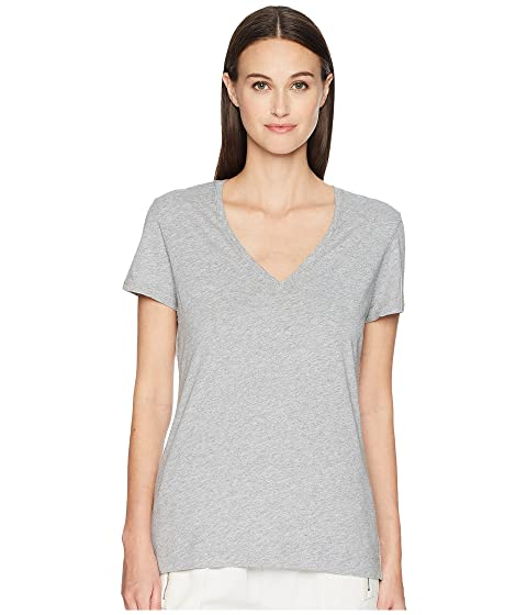 Adam Lippes Short Sleeve V-Neck Core Tee