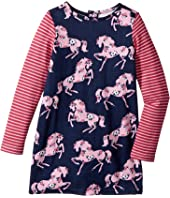 Hatley Kids - Prancing Horses Mod Dress (Toddler/Little Kids/Big Kids)