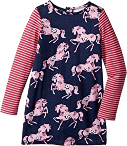 Prancing Horses Mod Dress (Toddler/Little Kids/Big Kids)