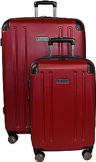 Kenneth Cole Reaction 8 Wheelin Expandable Luggage Spinner Wheeled Suitcase, 2 Pc Set , 29
