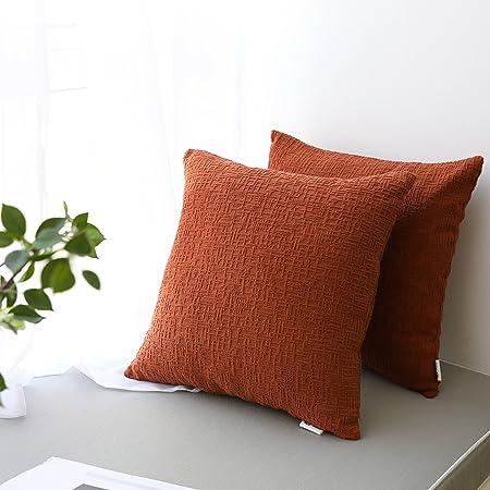 Lettre décorative Taie d/'oreiller Throw Cushion Cover Home Decor flaxlinen Coton