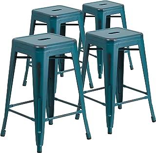 Best teal outdoor stool Reviews