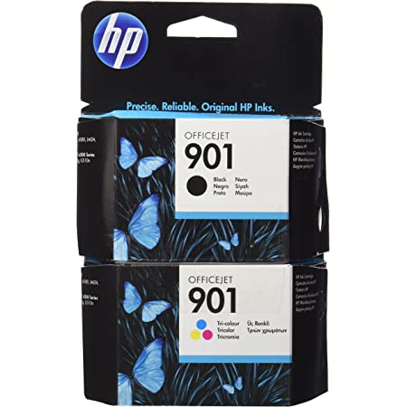 Hewlett Packard No 901 Combo Original Hp Tintenpatronen 2 Er Set Cg32 Ci87 1 X Schwarz 1 X Farbige Tinten Bürobedarf Schreibwaren