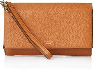 Oroton Women's Avalon Clutch Wallet & Pouch, Cognac, One Size