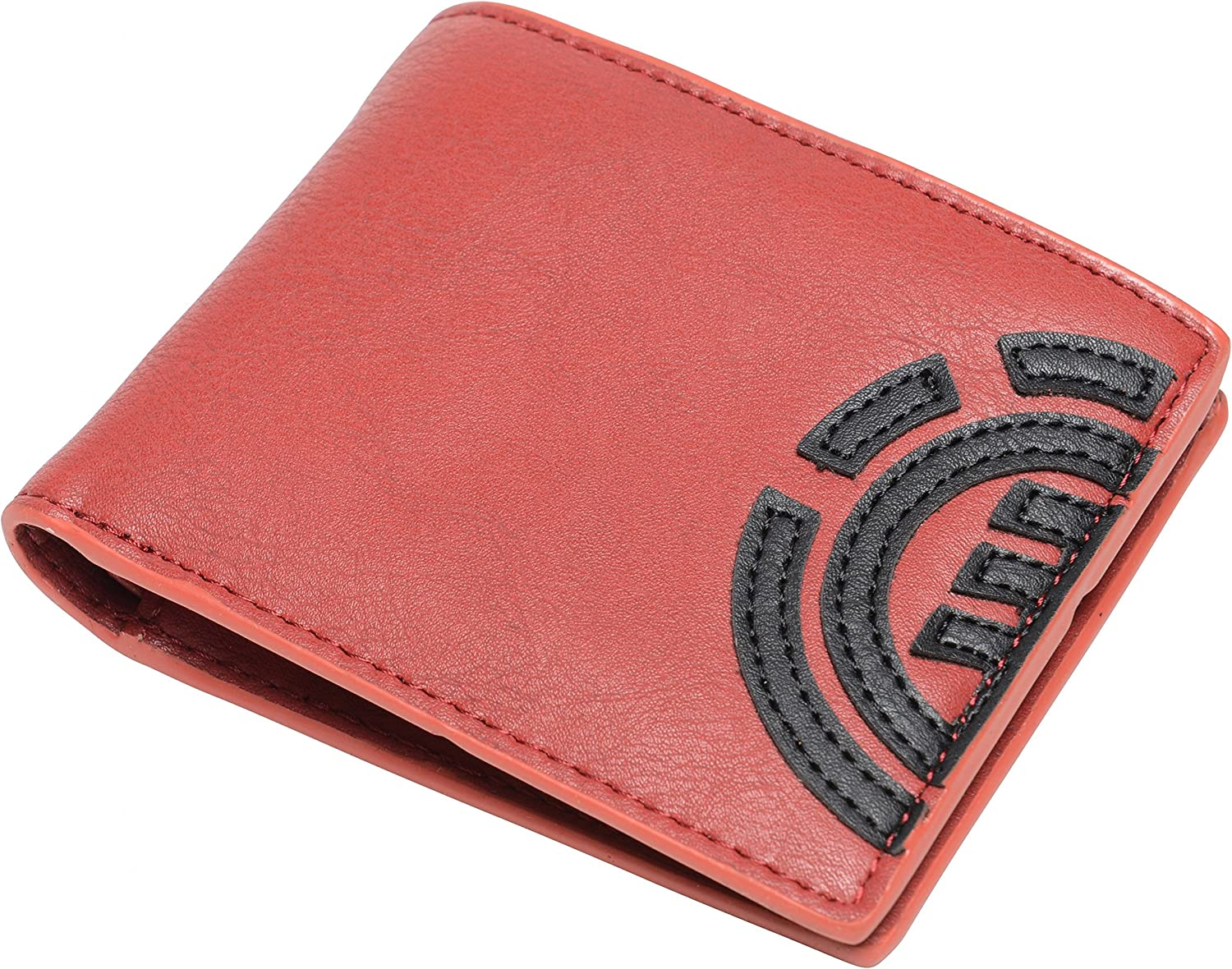 Element Wallet with CC, Note and Coin Pockets  Daily red dahlia