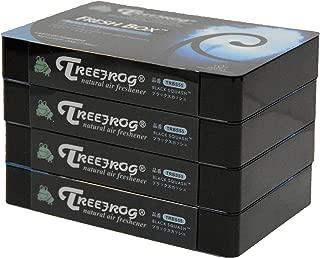 Black Squash Scent 4 Pack, Treefrog Natural Air Freshener Fresh Box (AKA Xtreme Fresh)