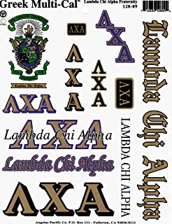 Lambda Chi Alpha Multi-Cal Sticker