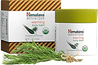Himalaya Botanique Warming Body Balm, Relax and Sooth Sore Muscles, for Aches & Joint Pain Relief, Provides Long Lasting C...