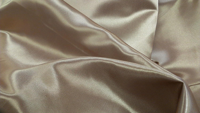 Copper Premium Bridal Satin Canopy Top - 44  Wide X 89  Long