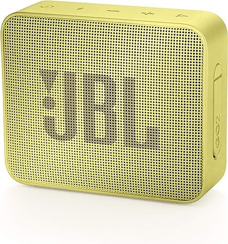 JBL GO2 Waterproof Ultra Portable Bluetooth Speaker Yellow