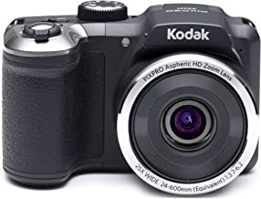 Kodak PIXPRO Astro Zoom AZ251-BK 16MP Digital Camera with 25X Optical Zoom and 3
