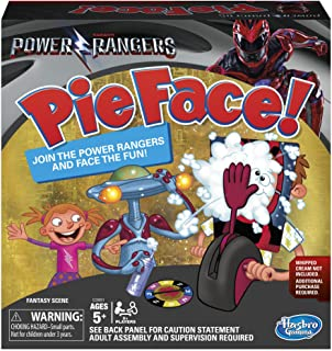 Hasbro Gaming Pie Face Game Power Rangers Edition (Amazon Exclusive)