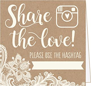 hashtag signs for events
