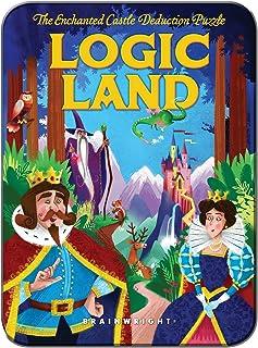 Brainwright LOGIC_LAND Brainteaser Puzzle, Multi