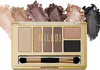 Milani Everyday Eyes Eyeshadow Palette - Must Have Naturals (0.21 Ounce) 6 Cruelty-Free Matte or Metallic Eyeshadow Colors to Contour & Highlight