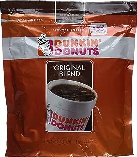 Dunkin' Donuts Original Medium Roast Blend Coffee, 2.5 Lb