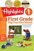 Big Fun First Grade Activity Book: Build skills and confidence through puzzles and early learning activities!