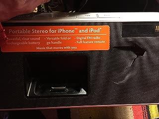 Altec Lansing iMT620 inMotion Classic Portable Stereo Speaker - Black