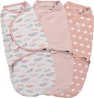 SwaddleMe Original Swaddle Coral Days Small (0-3 Months),Pack of 3