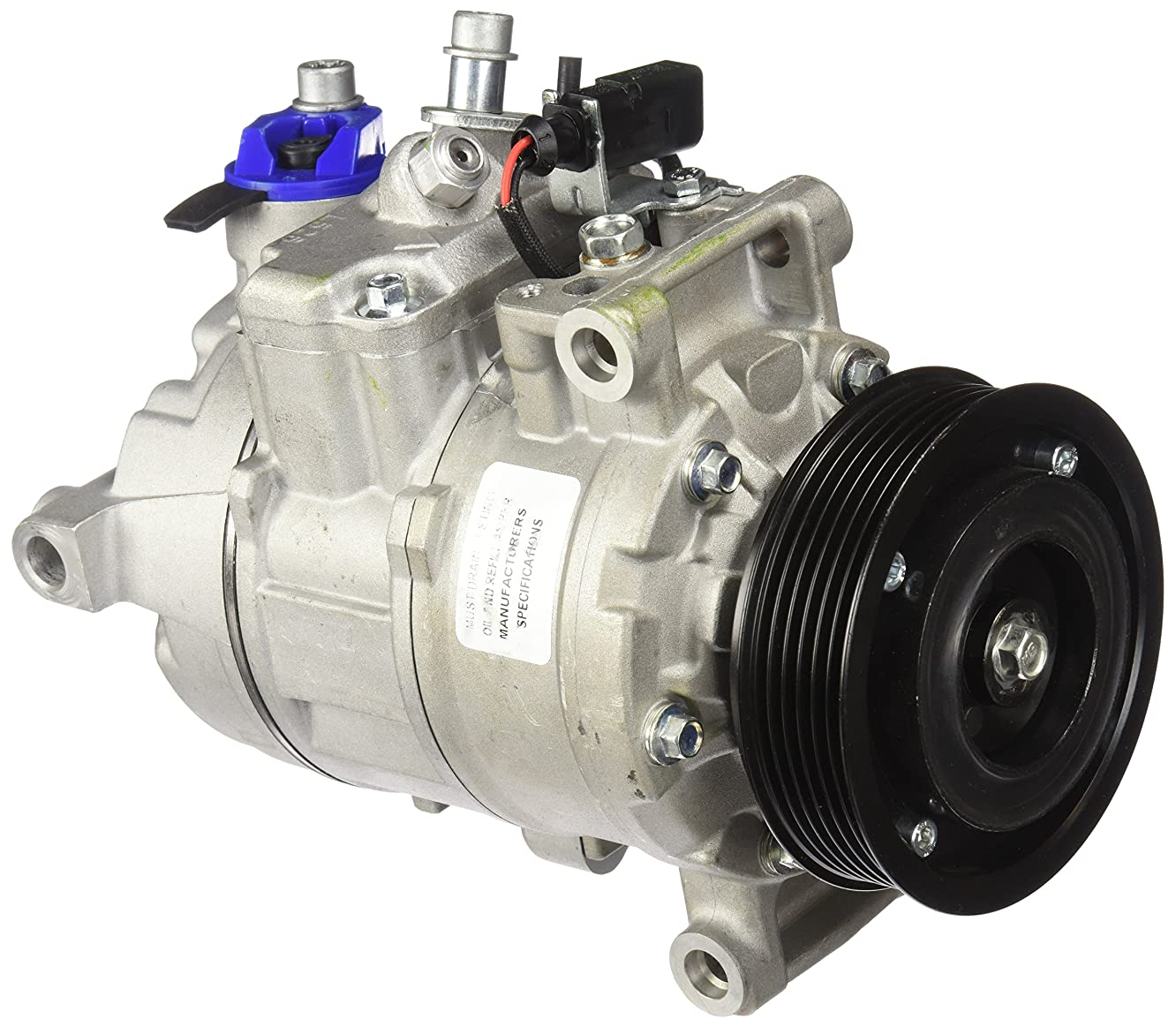 TCW 31711.6T1NEW A/C Compressor and Clutch (Tested Select)