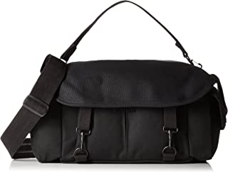 Domke F-2 original shoulder bag 700-02B (Black) for Canon, Nikon, Sony, Leica, Fujifilm & Olympus DSLR or Mirrorless cameras with space for multiple lenses up to 300mm and accessories