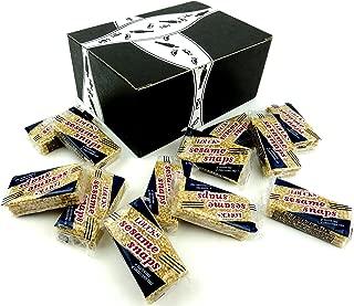 Loucks Sezme Sesame Snaps, 1.4 oz Packages in a BlackTie Box (Pack of 12)
